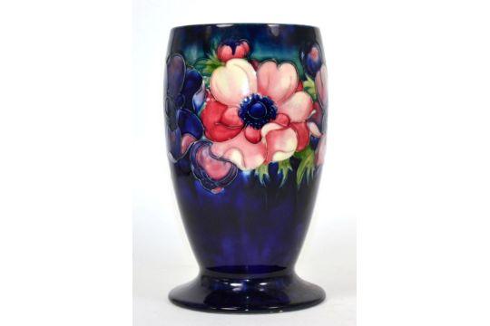 A William Moorcroft Poppy Pattern Vase Af