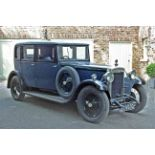 1929 DAIMLER 20/70 TYPE M SALOON Registration: EC8950 Chassis No: 31186 Engine No: 53847 Odometer: