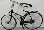 "Lot 9 - Vintage Hi Nelly bicycle with chrome handle bars and wheel bell (43"" seat to ground)"