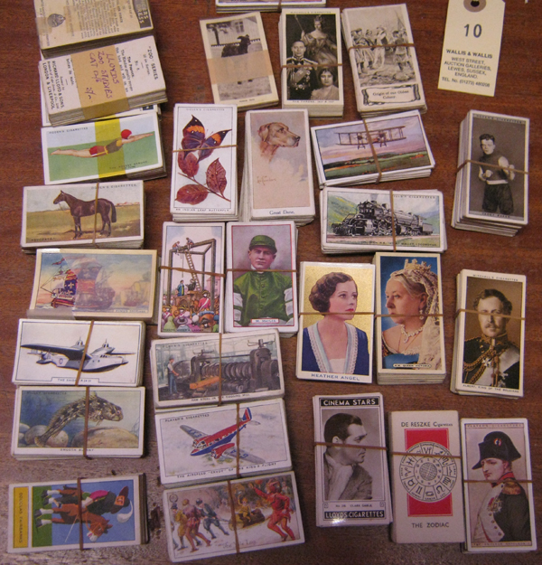 Lot 10 - 30 sets of cigarette cards, mostly early 1930's various makes including Ogden's Colour in Nature,