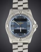 A GENTLEMAN'S TITANIUM BREITLING AEROSPACE BRACELET WATCH CIRCA 2008, REF. E679362  Movement:
