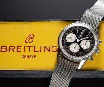 "A GENTLEMAN'S STAINLESS STEEL BREITLING NAVITIMER CHRONOGRAPH BRACELET WATCH CIRCA 1967, REF. 806 """