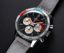 "A VERY RARE GENTLEMAN'S STAINLESS STEEL BREITLING ""CO PILOT"" YACHTING CHRONOGRAPH WRIST WATCH"