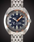 A GENTLEMAN'S STAINLESS STEEL DOXA TUSA SUB 1000T AUTOMATIC DIVERS BRACELET WATCH CIRCA 2008,