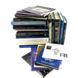 A Collection of silver reference books, including: The Huguenot Legacy, Treasures at Salter's