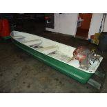 14 Ft. Aluminum Boat w/Motor