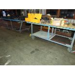 Metal Rolling Frame Tables