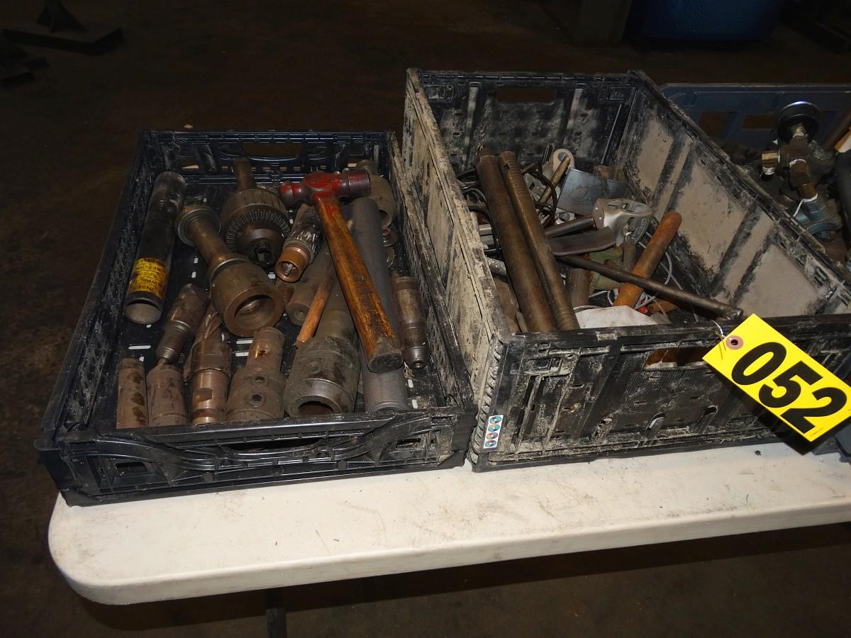 Lot 52 - Box Lot Misc Tools