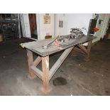 """36"""" x 8' Shop Table w/Mounted Benders"""