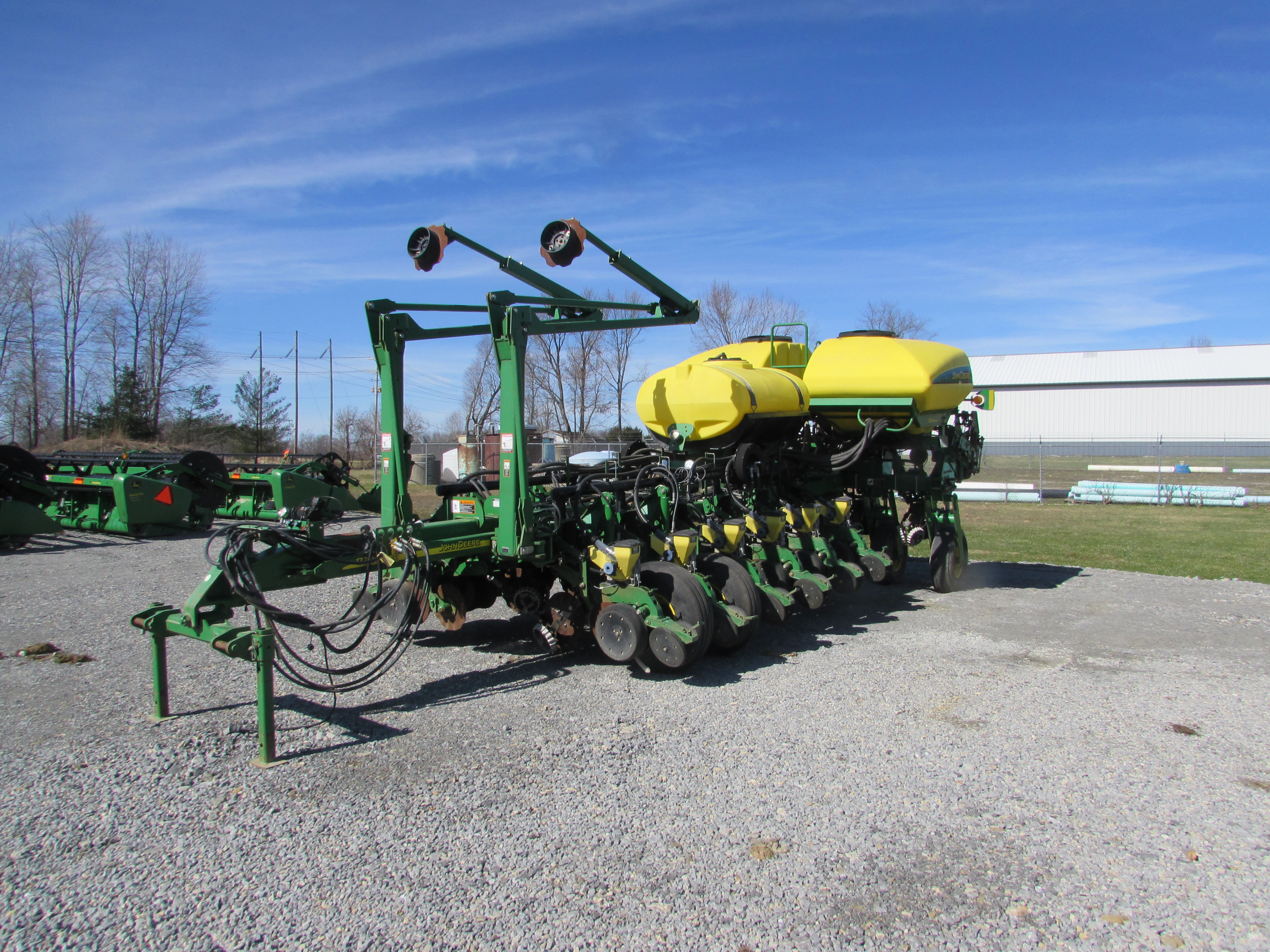 John Deere 1770 Nt Planter 16 Row 30 Vacuum Mechanical Drive