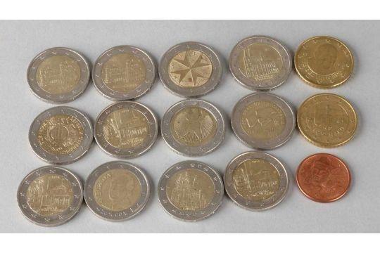 Viele Euro M252nzen Darunter 2 Euro 2011 Nordrhein Westfalen 2