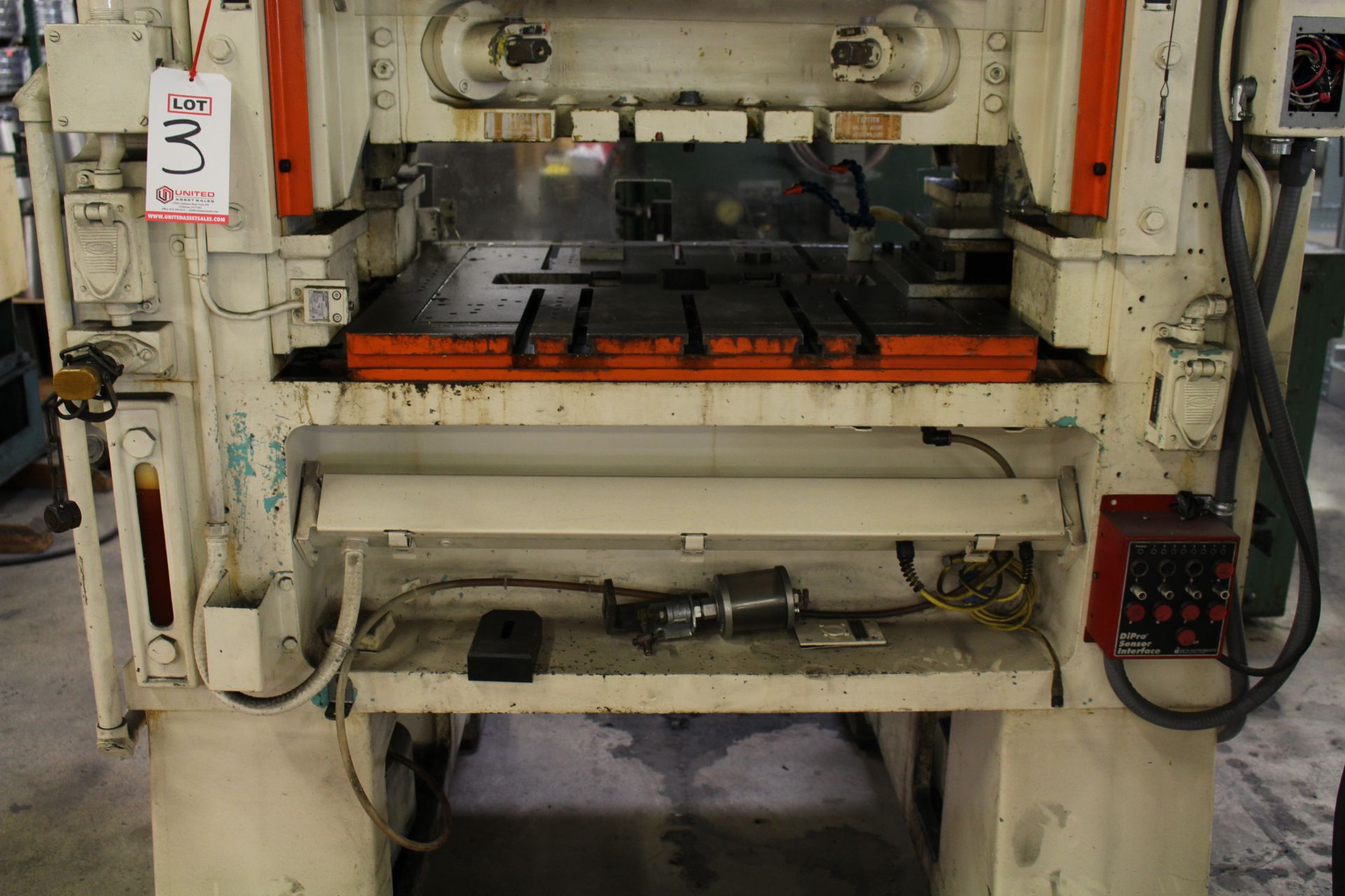 """MINSTER MODEL PM2-30-30 HIGH SPEED PUNCH PRESS, 30 TON CAPACITY, 30"""" X 20"""" BOLSTER, 0-1,000 SPM, 1- - Image 6 of 18"""