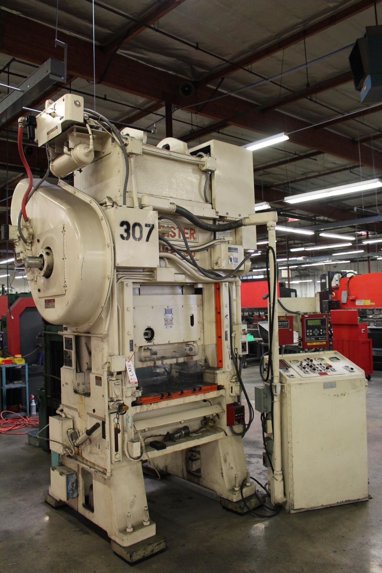"""MINSTER MODEL PM2-30-30 HIGH SPEED PUNCH PRESS, 30 TON CAPACITY, 30"""" X 20"""" BOLSTER, 0-1,000 SPM, 1- - Image 2 of 18"""