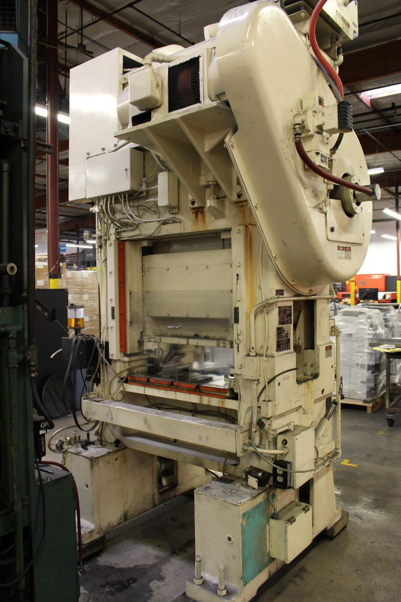 """MINSTER MODEL PM2-30-30 HIGH SPEED PUNCH PRESS, 30 TON CAPACITY, 30"""" X 20"""" BOLSTER, 0-1,000 SPM, 1- - Image 4 of 18"""