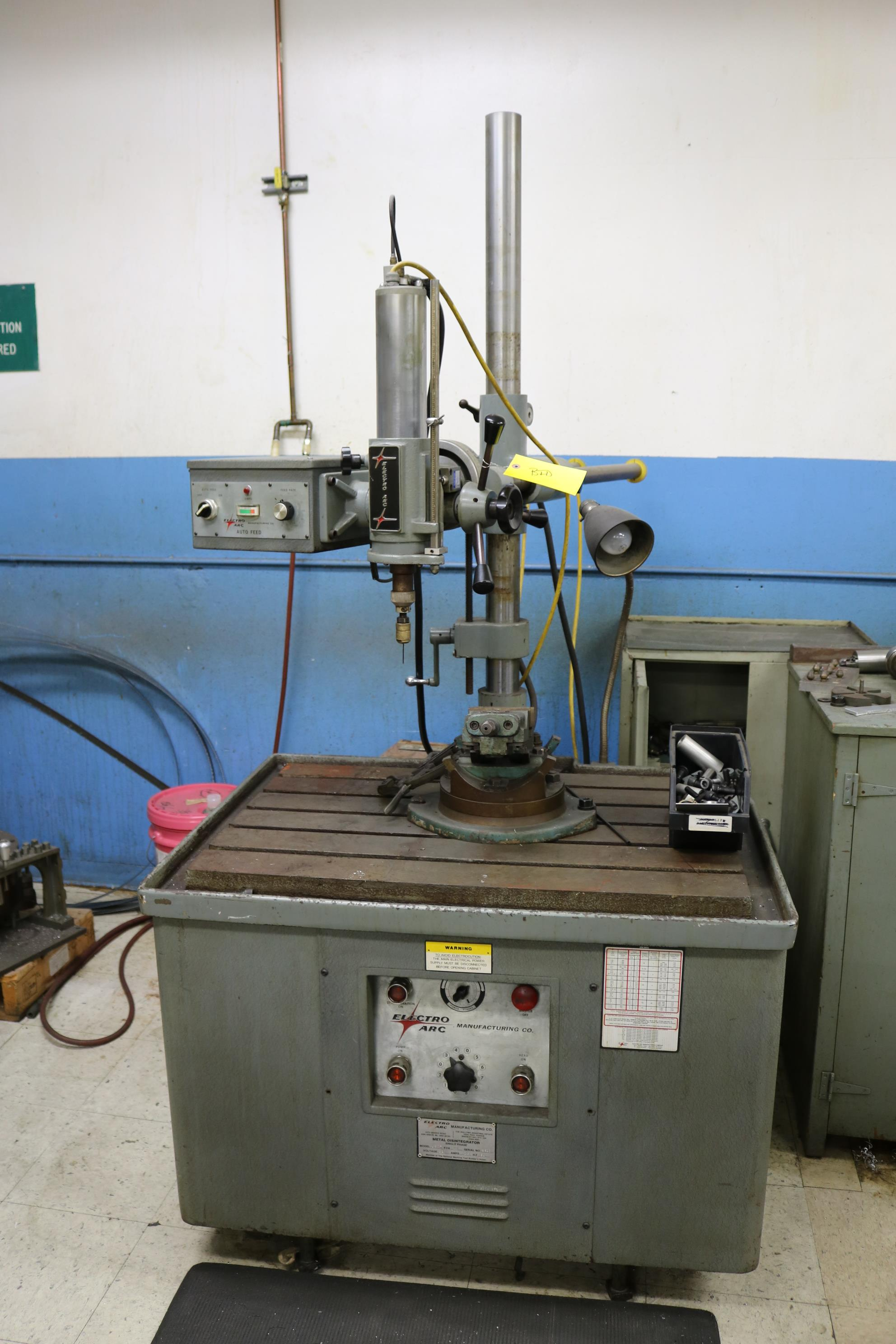 Lot 20 - ELECTRO ARC TAP METAL DISINTEGRATOR, MODEL 1SQT, 10 KVA, S/N 8800