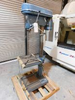 "Lot 33 - FREJOTH 22"" DRILL PRESS, MODEL CH-25, S/N 1204911, FLOOR STAND, 12-SPEED, NO CHUCK"