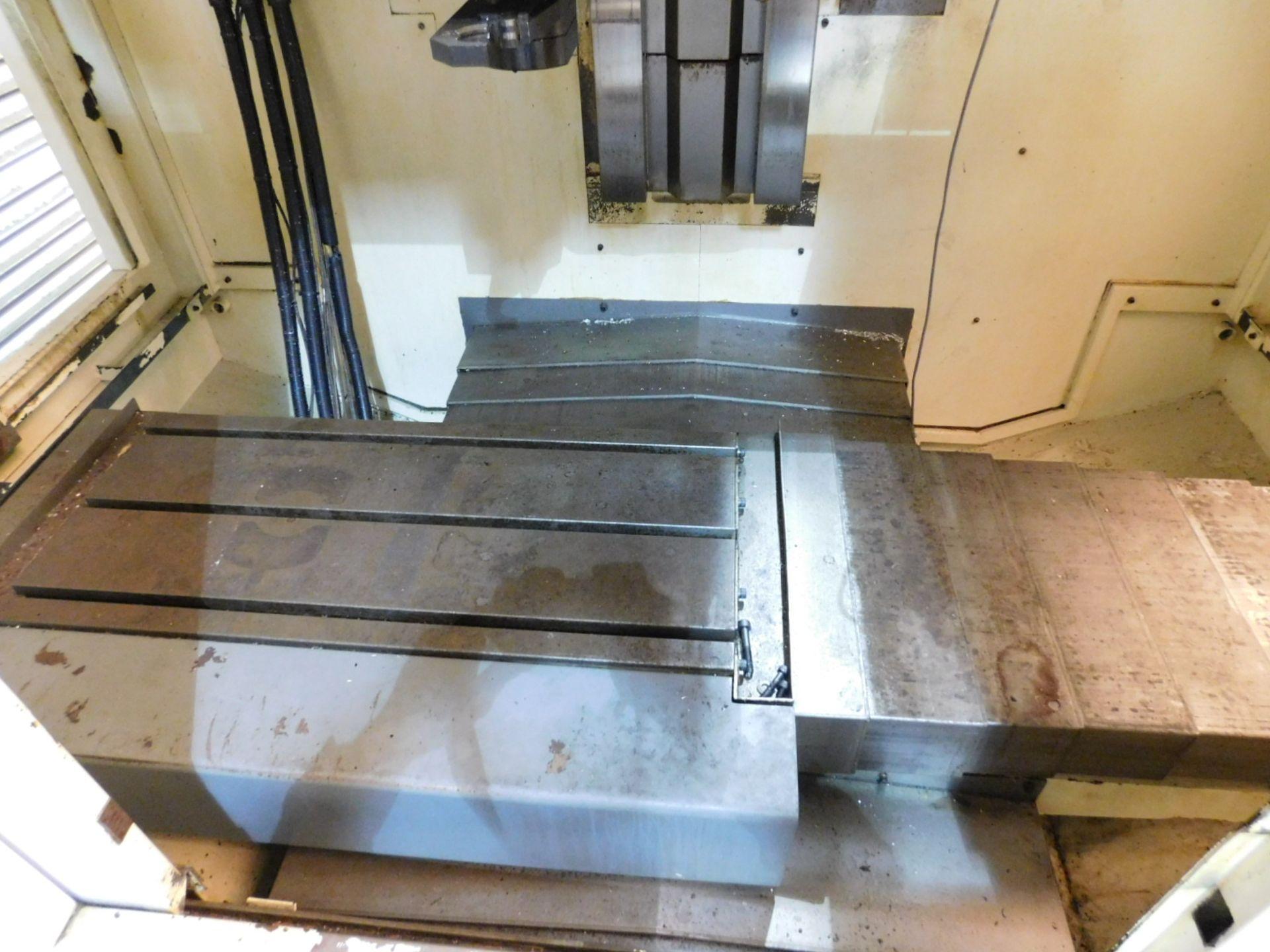 "Lot 7 - KITAMURA MYCENTER 3XI VERTICAL MACHINING CENTER, TRAVELS: 30"" X 18"" X 18"", FANUC 16-I-M CNC CONTROL,"