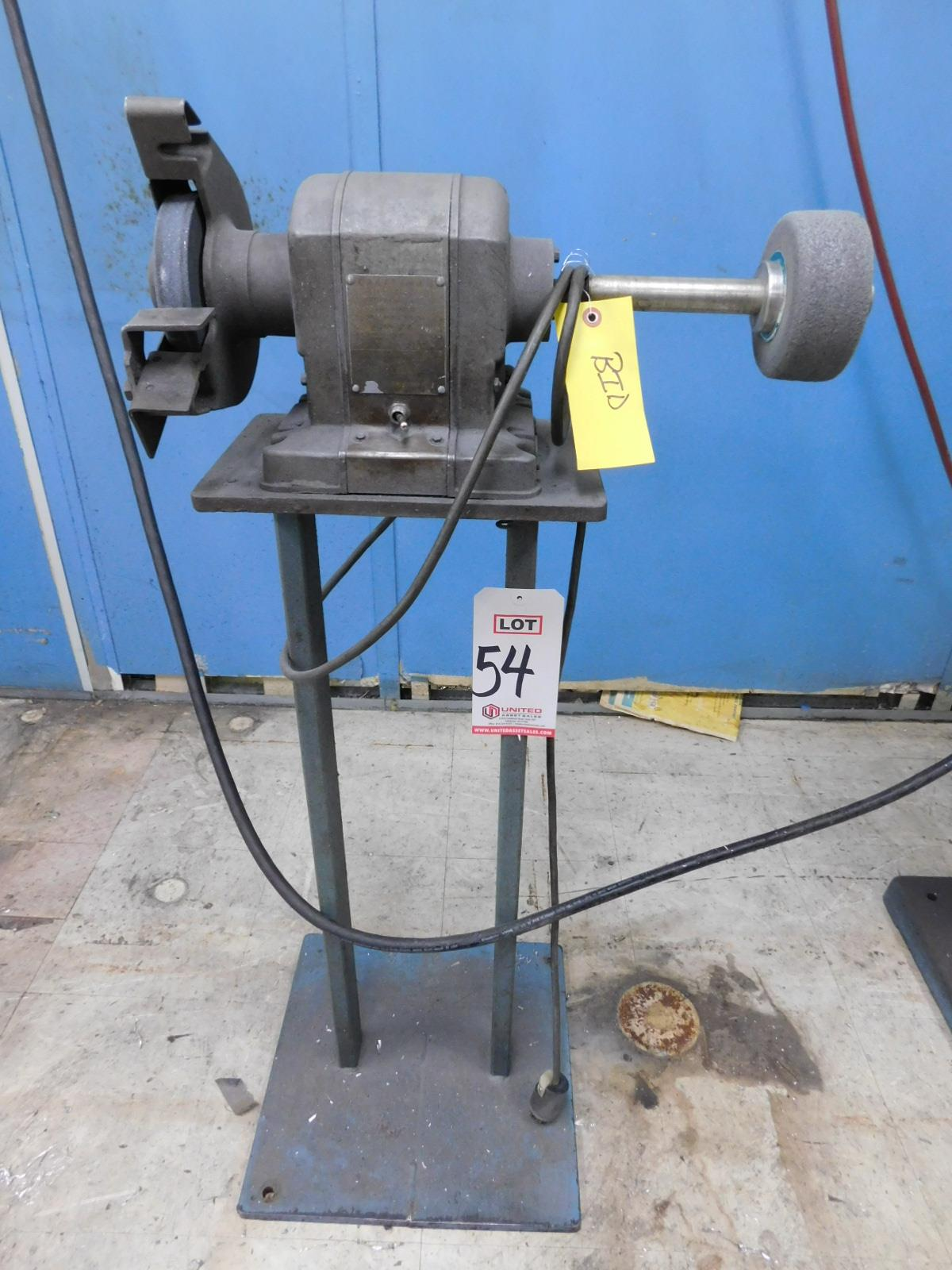 Lot 54 - CRAFTSMAN DOUBLE END GRINDER, W/ STAND