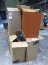 Lot 41A - LOT - (6) BOXES TIMESAVER SANDING BELTS,120 & 180 GRIT