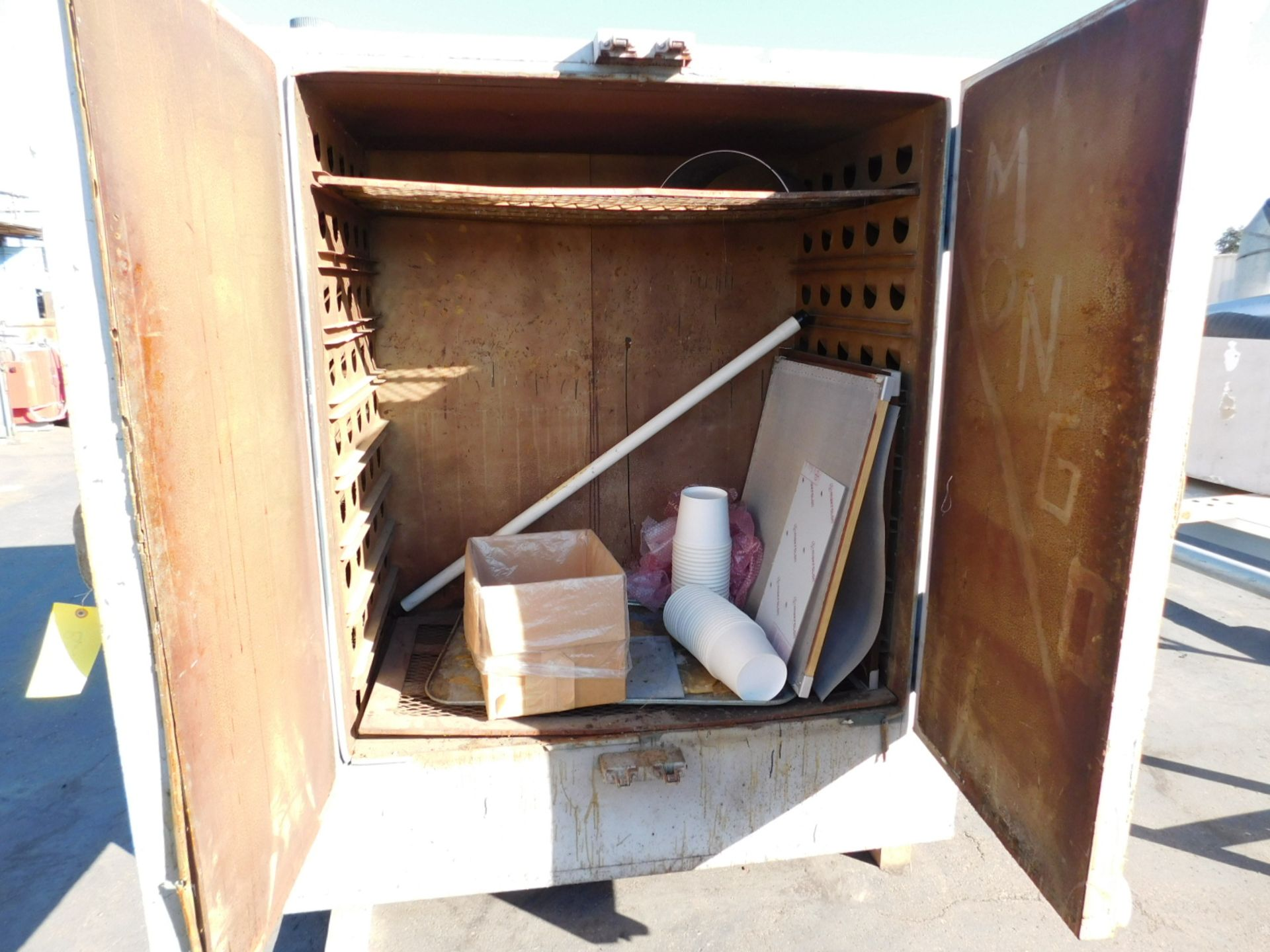 Lot 23 - GRIEVE MODEL SA-350 OVEN, ELECTRIC, 350°F, S/N 47441, OUT OF SERVICE