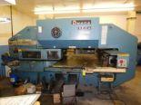 Lot 1 - 1985 AMADA PEGA-344 QUEEN, AMADA FANUC P SYSTEM 6M CNC CONTROL, 30-TON CAPACITY, 40-STATION THIN