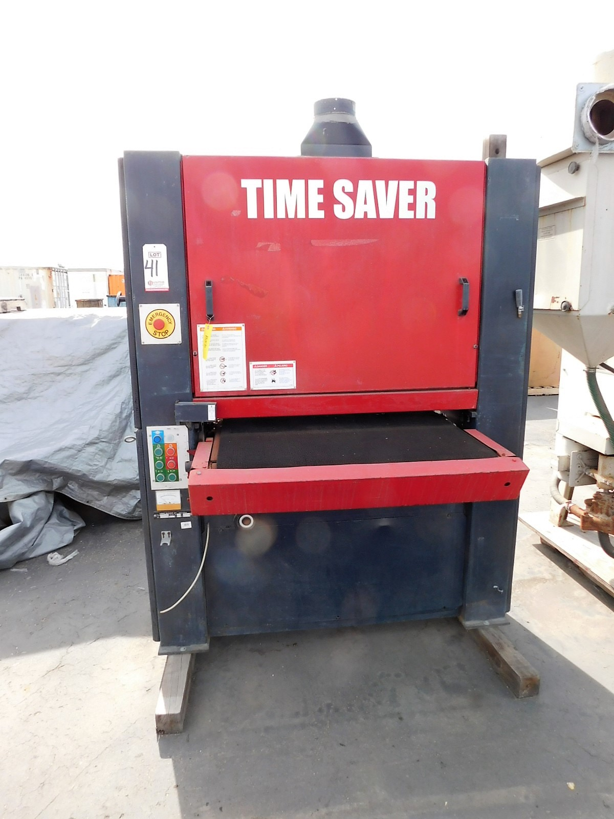 Lot 41 - TIMESAVER SANDER, MODEL 2075C, S/N TS1060US