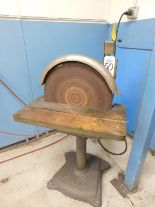 "Lot 50 - APEX 20"" DISC GRINDER, MODEL 20-D, 2 HP, 208-230/460V, 3-PHASE"
