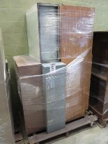 Lot 8 - LOT - PALLET W/ (4) SHELF UNITS