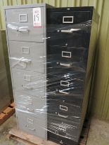 Lot 19 - LOT - PALLET W/ (2) FILE CABINETS