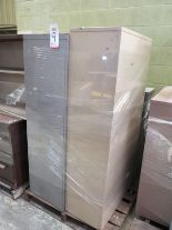 Lot 9 - LOT - PALLET W/ (2) FILE CABINETS, (1) SHELF