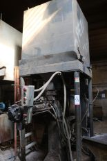 Lot 55 - PALMER MODEL M200 200 LB CONTINUOUS SAND MIXER, PUMPS AND STAND, 1266 HOURS, S/N M4060