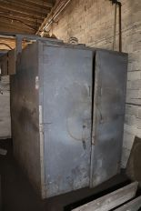 Lot 44 - STEELMAN MODEL 444EPC3 4' X 4' X 4' BAKE OVEN, 2-DOOR, CONVECTION OVEN 240 KW, S/N 81101