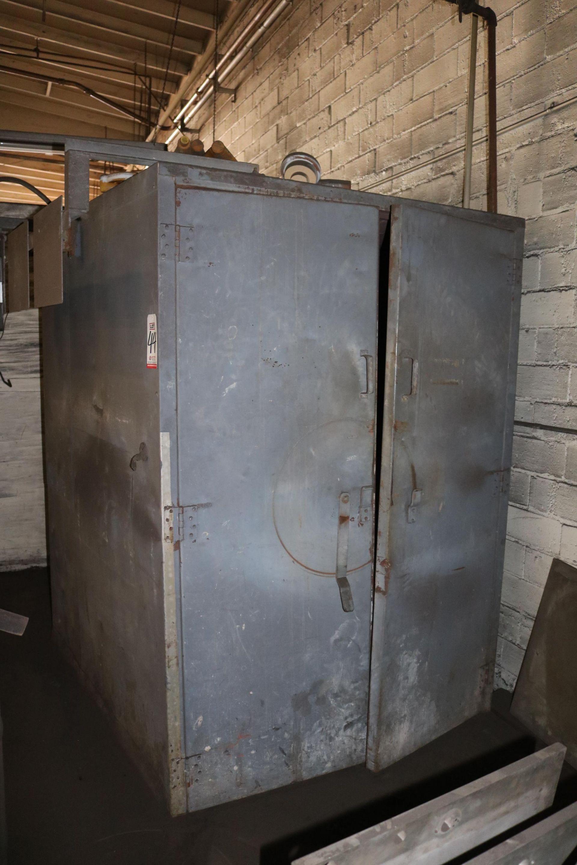 Lot 44 - STEELMAN MODEL 444EPC3 4' X 4' X 4' BAKE OVEN, 2-DOOR, CONVECTION OVEN 240 KW, S/N 81101