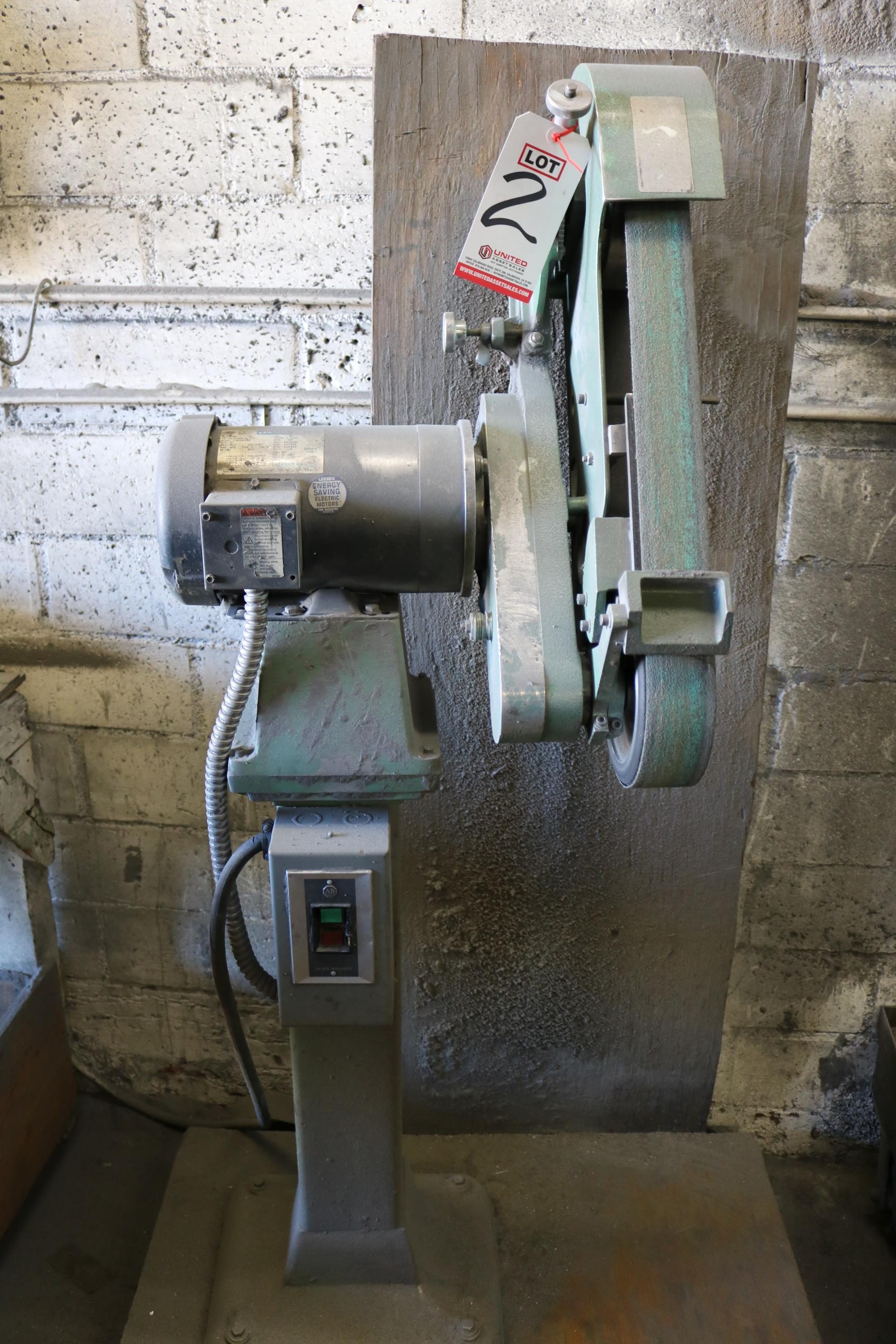Lot 2 - BURR KING MODEL 960-250 SINGLE END BACKSTAND TYPE GRINDERS, 3 HP