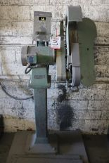Lot 3 - BURR KING MODEL 960-250 SINGLE END BACKSTAND TYPE GRINDERS, 3 HP