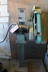 Lot 1 - BURR KING MODEL 960-250 SINGLE END BACKSTAND TYPE GRINDERS, 3 HP