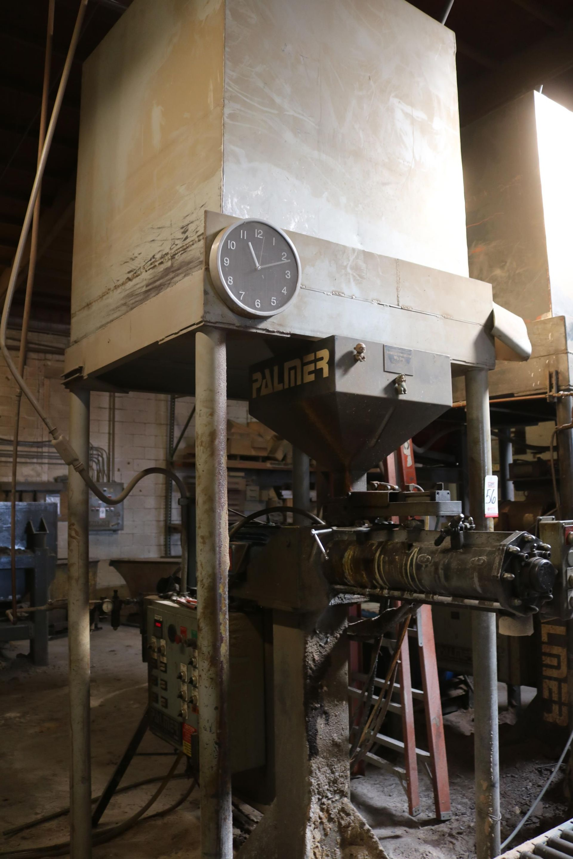 Lot 56 - 2001 PALMER MODEL M100XL CONTINUOUS SAND MIXER, PUMPS AND STAND, 1032 HOURS, S/N M290XL