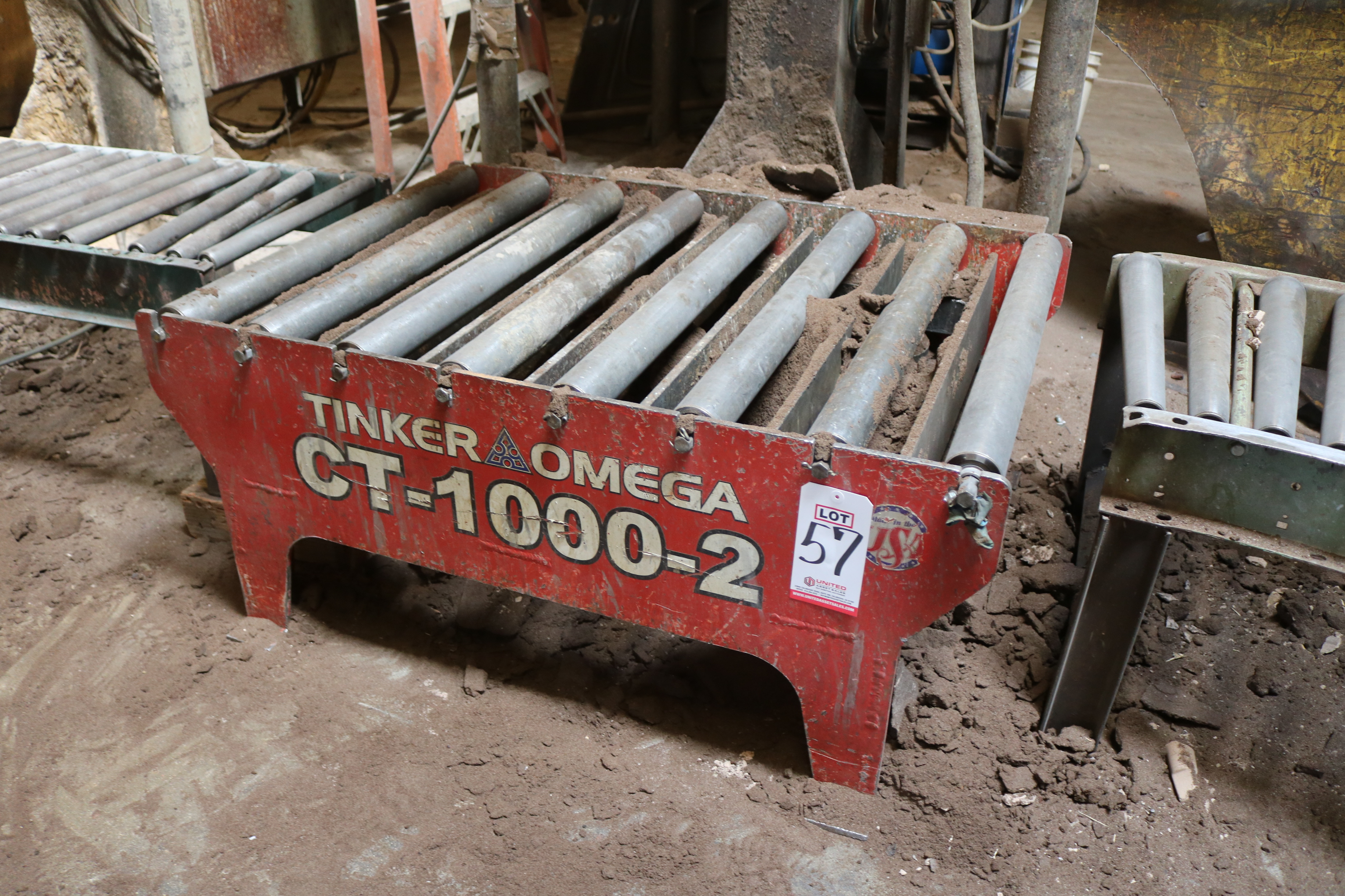 Lot 57 - TINKER OMEGA MODEL CT-1000-2 1000 LB COMPACTION TABLE