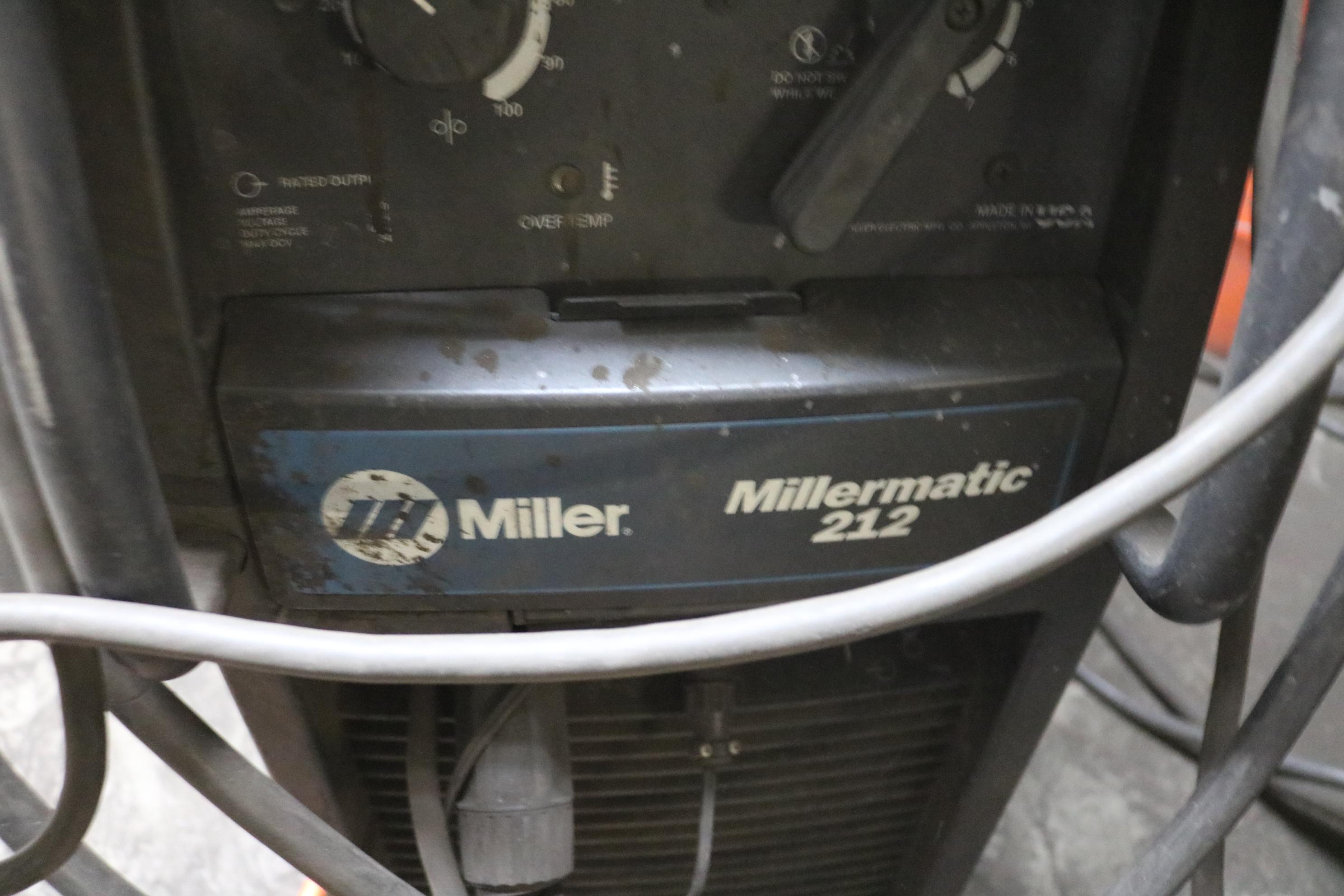 Lot 13 - MILLER MILLERMATIC 212 WELDER
