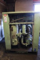 Lot 8 - SULLAIR MODEL LS20-50 50HP AIR COOLED AIR COMPRESSOR, 24,820+ HOURS, DIGITAL READOUT, S/N 003-