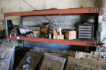 Lot 26 - ONE SECTION PALLET RACKING