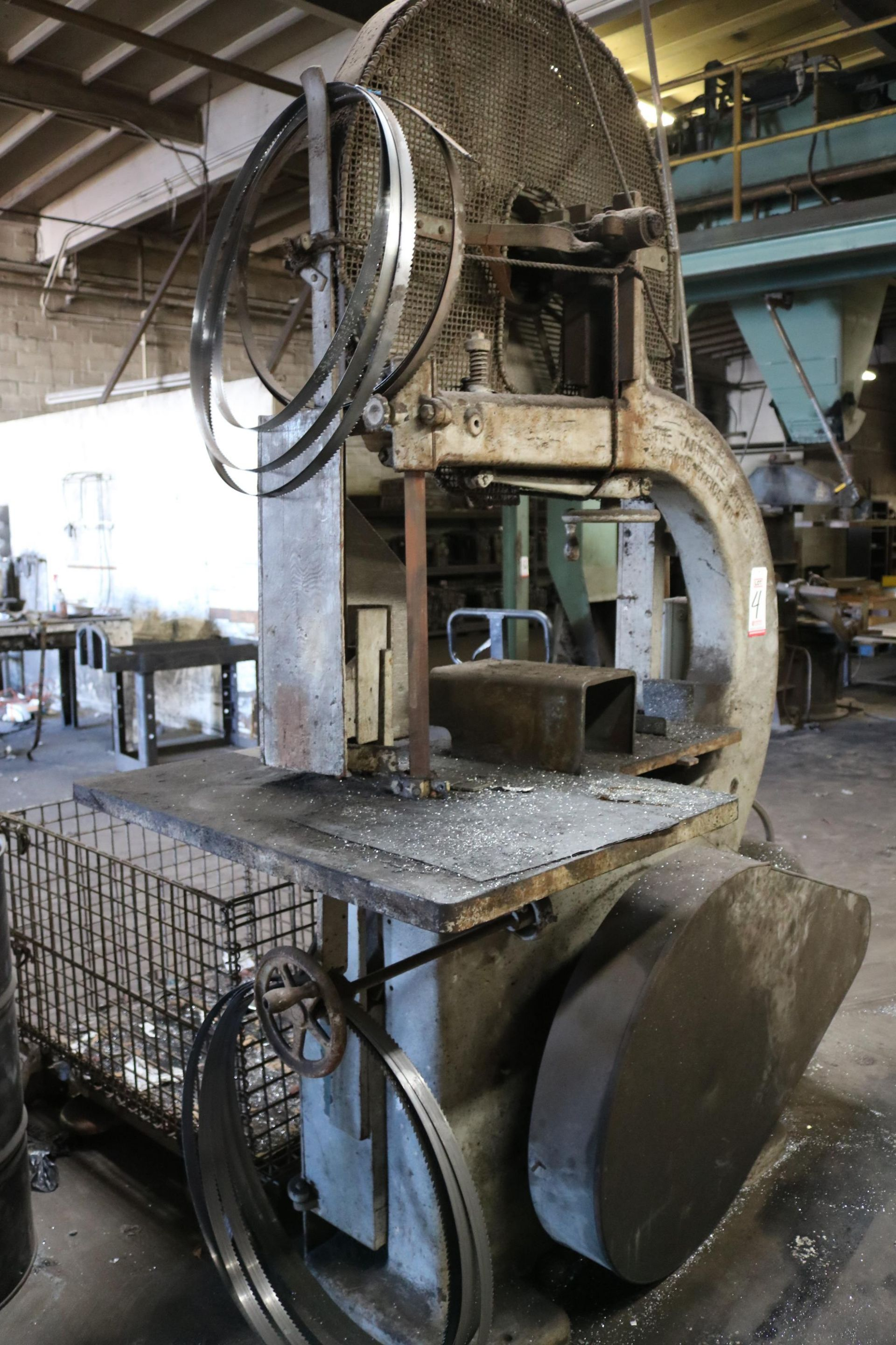 """Lot 4 - TANNEWITZ 36"""" VERTICAL BAND SAW"""