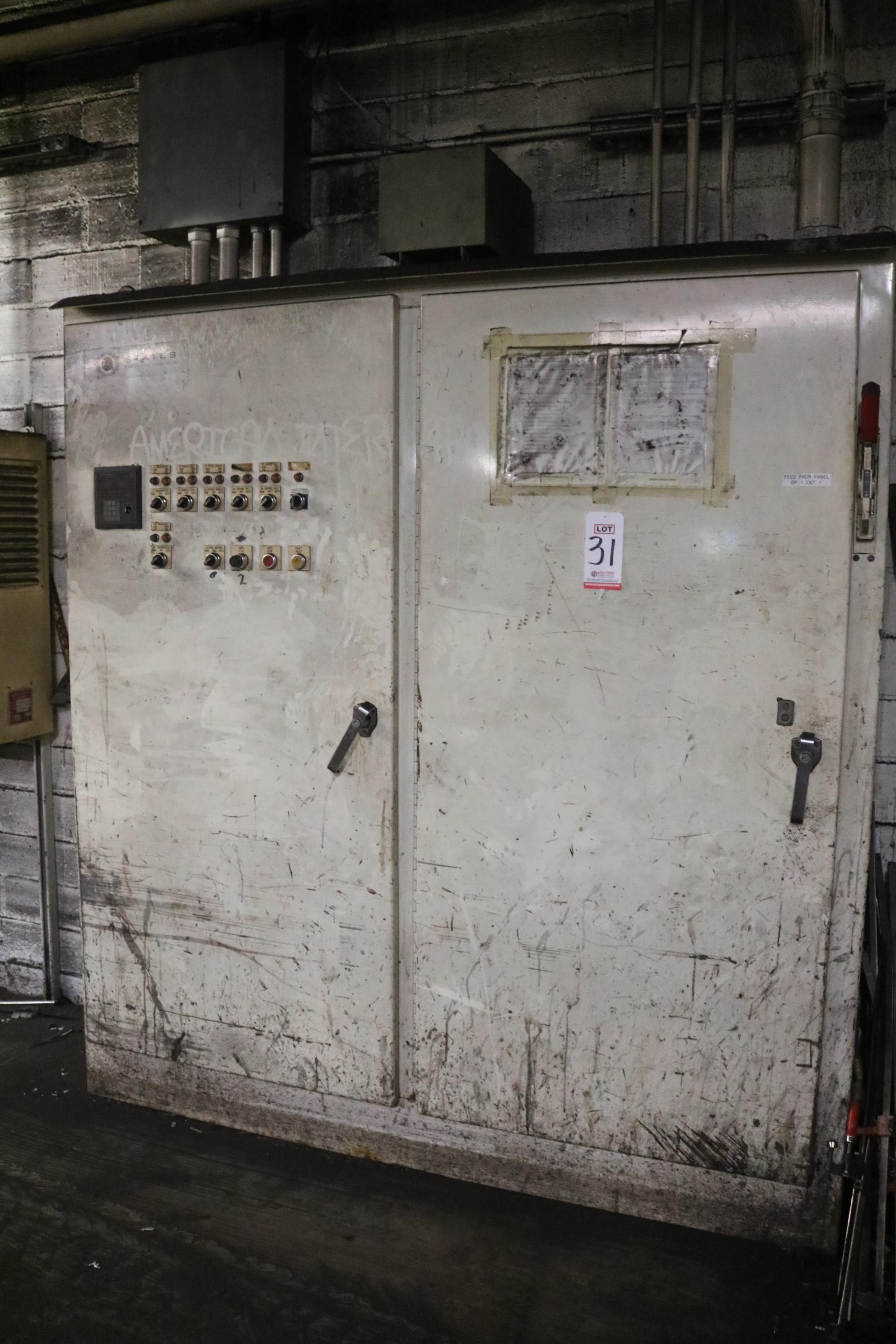 Lot 31 - 2012 STATES MODEL M2500 TWO STAGE RINGMULLER, ALLEN BRADLEY SLC5/02 PLC CONTROLS, S/N M2500-100-30-