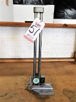 "Lot 51 - MITUTOYO NO. 192-112, DIGIT DIAL 18"" HEIGHT GAUGE"