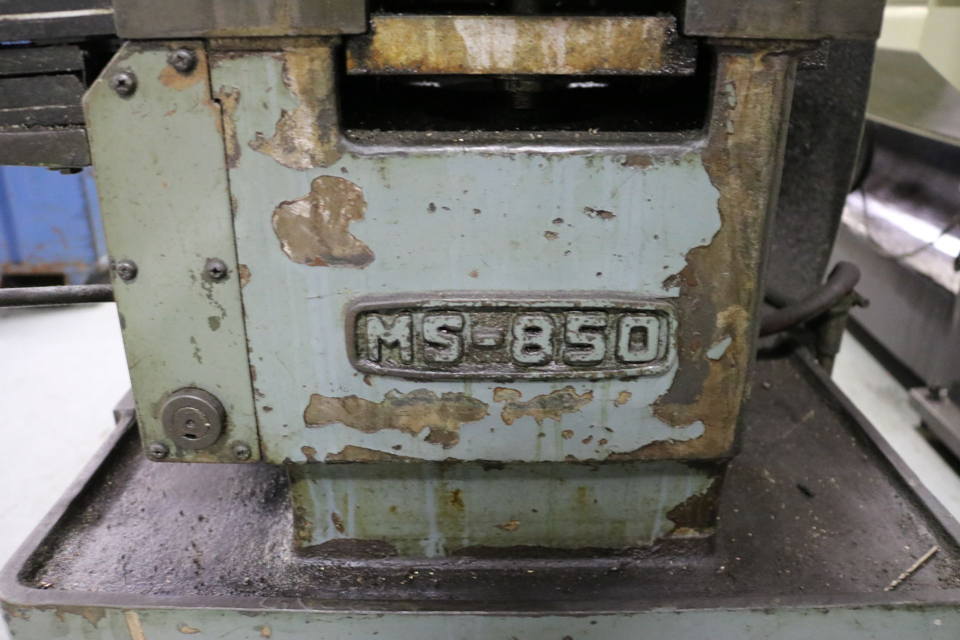 "Lot 22 - MORI SEIKI M-850 ENGINE LATHE, 17"" X 33"" CC, 12"" 3-JAW CHUCK, 2"" HOLE THRU, 5 HP, S/N 6524"