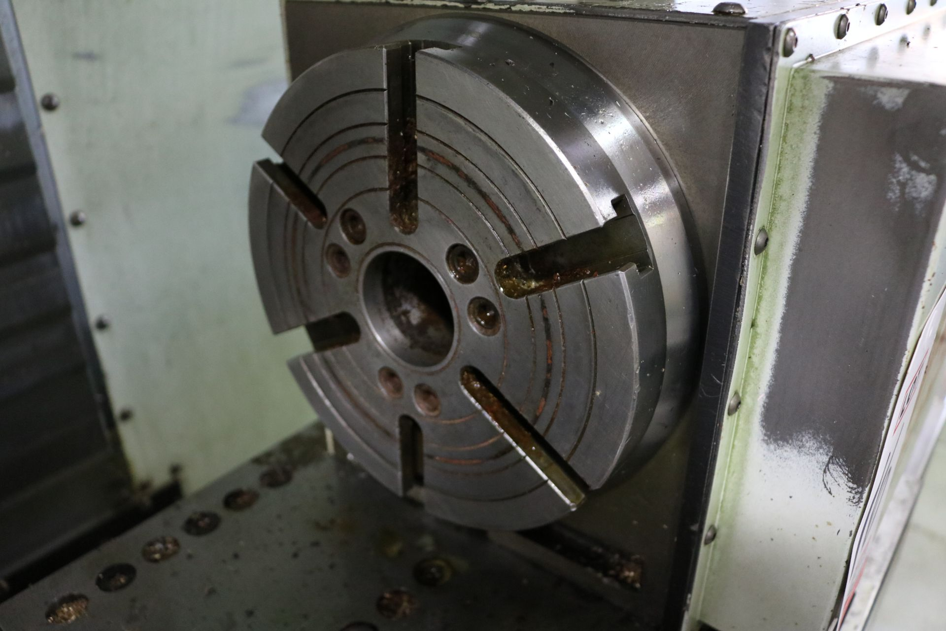 "Lot 16 - HAAS HRT-210 ROTARY TABLE, 8"" CHUCK"