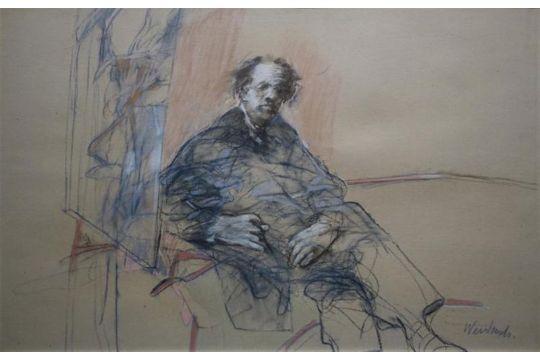 Claude Weisbruch (1927-2014)kleurenlitho, 57 x 76, Anatomische les ...