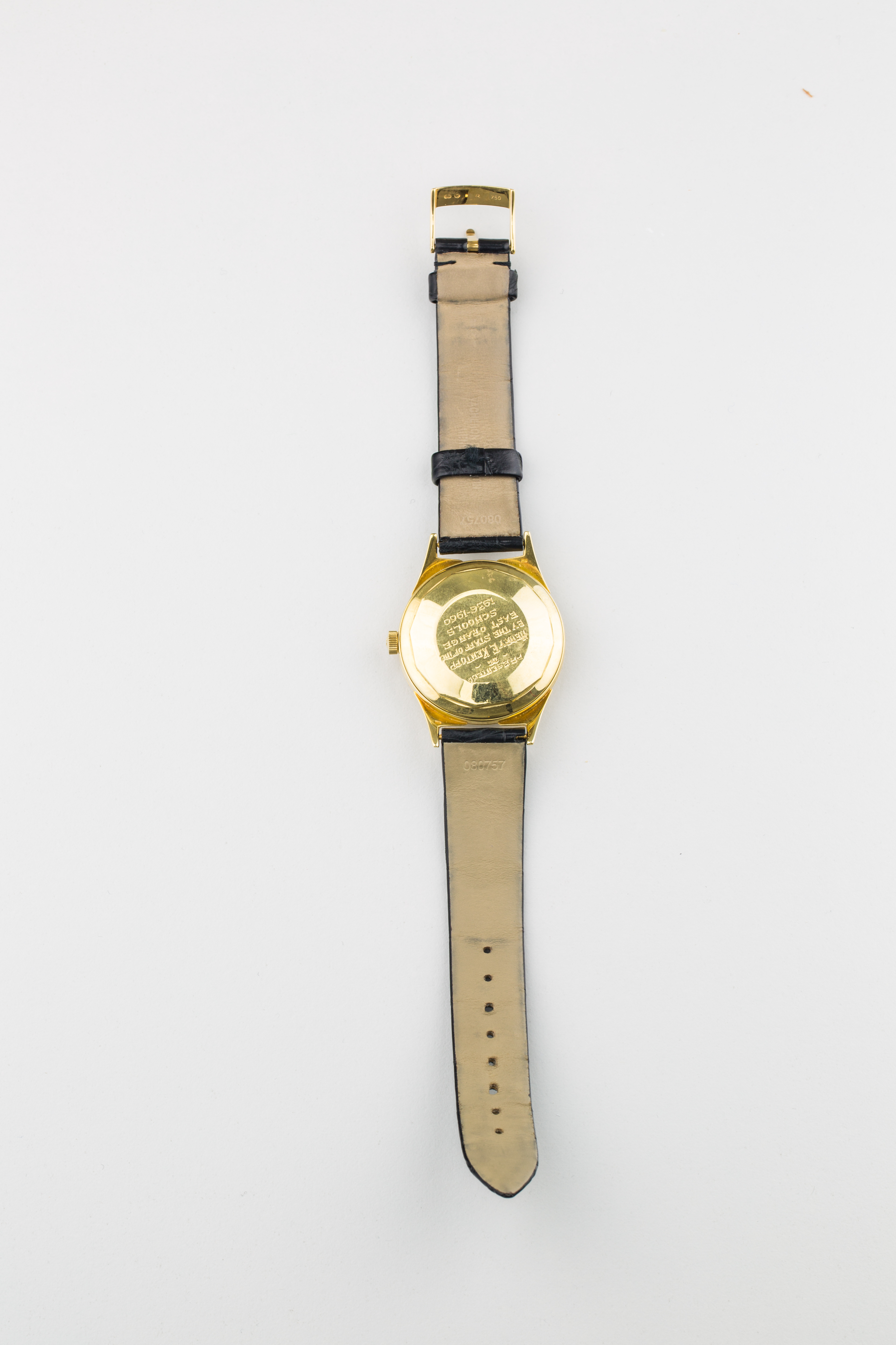 Lot 21 - Vacheron Constantin 18ct Gold Watch