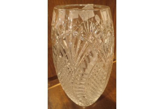 Waterford Crystal Seahorses Vase H 26 Cm