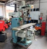 Lot 7 - A TOS FNK25A Vertical Turret Head Milling Machine No.12 017, 49in x 11.5in table with Anilam